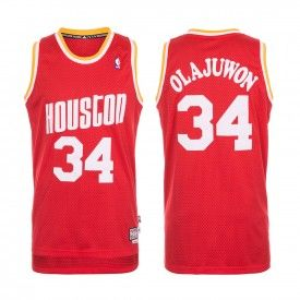 Maillot NBA Swingman retiré Houston Rockets Hakeem Olajuwon