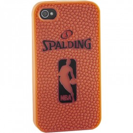 Coque silicone iPhone 4/4S - Spalding 300165301