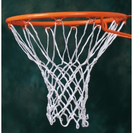 Filets de Basket nylon 4 mm (la paire) - Sporti 065063