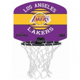 Panier de basket Miniboard Los Angeles Lakers - Spalding 3001588020617