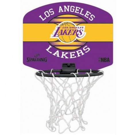 Panier de basket Miniboard Los Angeles Lakers Spalding
