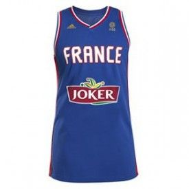 Maillot Equipe de France basketball Domicile